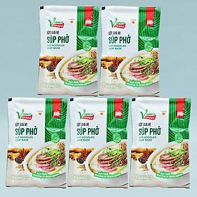 Combo 5 gói Bột Súp Phở Việt Ấn 18gr (18gr/gói)