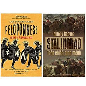 Combo Sách Về Những Trận Chiến Định Mệnh : Lịch Sử Chiến Tranh Peloponnese + Stalingrad – Trận Chiến Định Mệnh