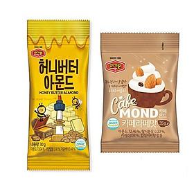 Hạnh nhân bơ mật ong Murgerbon (200g) + Hạnh nhân vị cà phê Latte Murgerbon (200g)