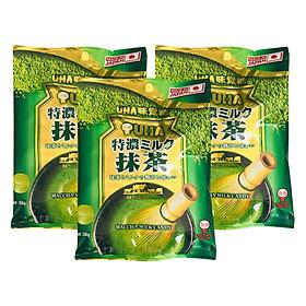 3 Gói Kẹo Sữa Trà Xanh Tokuno Uha Nhật Bản (58g x 3)