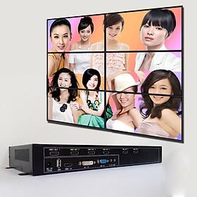 Video wall controller Bộ ghép nhiều màn hình ( Ghép 6 màn ) cao cấp A6L