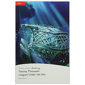 Level 1: 20,000 Leagues Under The Sea Book And CD Pack (Pearson English Graded Readers)