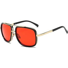 New Fashion Big Frame Sunglasses Men Square Fashion Glasses For Women High Quality Retro Sun Glasses Vintage