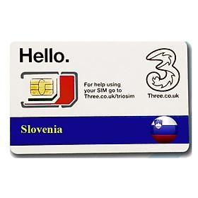 Sim du lịchSlovenia 4g tốc độ cao
