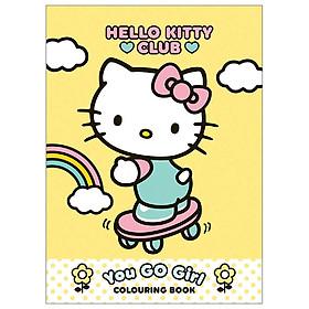 Hello Kitty You Go Girl Colouring Book