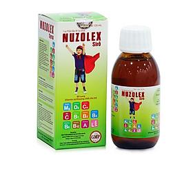 Thực phẩm bảo vệ sức khoẻ Nuzolex dạng siro 120ml