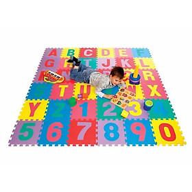 Bộ 26 Tấm Thảm Lót Sàn Hình Chữ Cái 30x30 Siêu Tiện Dụng