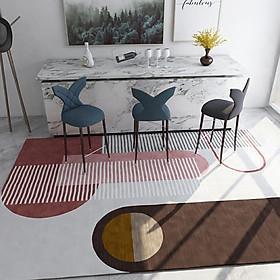 80*120cm Carpet Modern Nordic Geometric Style Living Room Coffee Table Rug Floor Mat