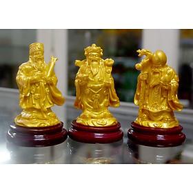 Bộ tượng Tam Đa-Ba ông Phúc Lộc Thọ có đế cao 9cm-Nhiều Mẫu