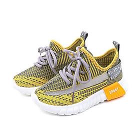 Giày thể thao cho bé trai và bé gái 1 - 12 tuổi kiểu dáng buộc dây năng động GE05