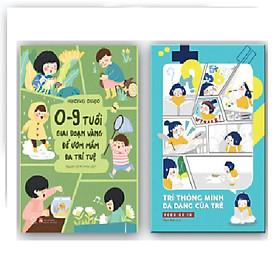 Sách Combo - Giúp con phát triển trí thông minh đa dạng (2 cuốn)