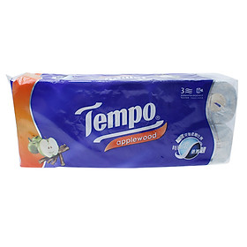 Giấy vệ sinh cao cấp Tempo Toipa Apple wood 10 x 6