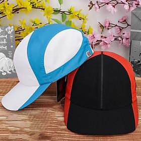 Combo 2 nón kết sơn, mũ cặp, nón cặp đường da giữa nhỏ màu trắng xanh dương và cam đen hàng mới nhập - NC508