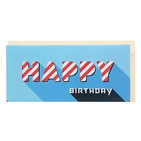 Thiệp Photostory Die-Cut A3 Happy Birthday 7