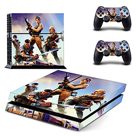 Hình đại diện sản phẩm Removable PS4 Skin Game Machine Accessories Stickers PVC Material No Air Bubbles Two Controllers Sticker