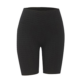 Breathable Tight Yoga Sport Hips High Waist Thread Short Women Pants-6