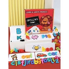Thẻ trò chơi đánh vần cho trẻ em Spelling Game ( Mẫu 2020) - Bộ Sư Tử Spelling Game - Thẻ Flash Card