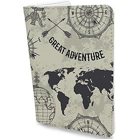 Bao Da Hộ Chiếu Du Lịch Độc Đáo - Ví Đựng Passport Và Phụ Kiện - PPAT0081