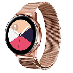 Dây Thép Lưới Nam Châm Milanese Loop Cho Galaxy Watch Active 2, Active 1, Galaxy Watch 42, Garmin, Ticwatch Pro, Gear S3 , Galaxy Watch 46