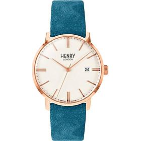 Đồng Hồ Unisex Henry London HL40-S-0360 - Dây Da