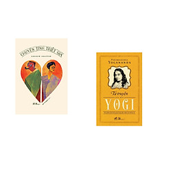 Combo 2 cuốn sách: Chuyện tình triết gia + Tự truyện của một Yogi