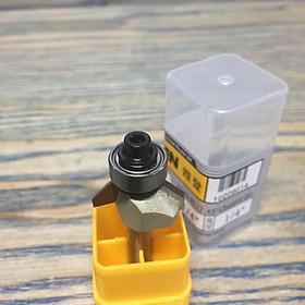 """Mũi vát cạnh 45 độ ổ bi 1/4""""x1/4"""" (6.35mm) ARDEN"""