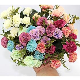 Bộ 50 Hoa Đinh Hương Giả Hoa giả để bàn Hoa giả trang trí MeeFlower