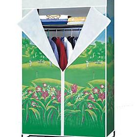 Tủ vải Thiên Nam Sơn rộng 1.2m hoa văn ngẫu nhiên (tặng kèm lắc tay bạc 925)
