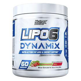 Lipo6 Dynamix – Pre-Workout Kết Hợp Đốt Mỡ 2 In 1 (60 Serving)