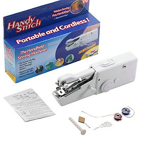 Mini Handheld Sewing Machine Portable Electric Hand Sewing Machine Quick Repairing Suitable for Home Travel Clothes