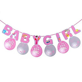 COMBO TRANG TRÍ BABY SHOWER CHO BÉ GÁIBABY GIRL
