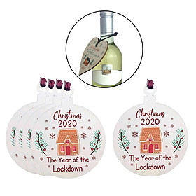 Quarantine Christmas Ornament, 2020 The Year of The Lockdown, Christmas Hanging Decoration 2020 Christmas Holiday Ornaments