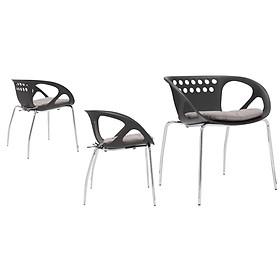 Combo 4 Ghế đa năng cao cấp mã K0A0-025, phù hợp dùng ngoài trời, pantry, nhà hàng, quán cafe, bàn trang điểm...