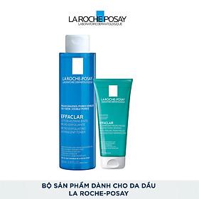 Bộ sản phẩm dành cho da dầu La Roche-Posay