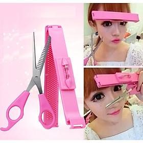 Combo Bộ dụng cụ tự cắt tóc mái tiện dụng - M1