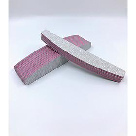 Set 3 Dũa móng tay nhám cao cấp Nail Salon Pro