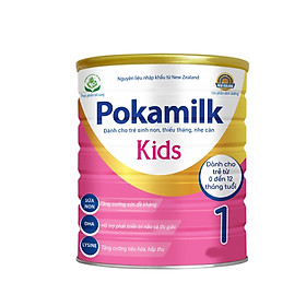 2 Hộp Sữa dinh dưỡng POKAMILK KIDS 400g