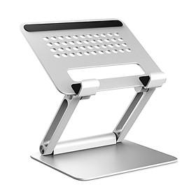 Giá đỡ máy tính bảng tablet và điện thoại chỉnh độ cao góc nghiêng nhôm nguyên khối cho Ipad Surface Iphone L02