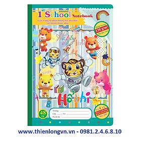 Vở 4 ô ly Chích Bông - 48 trang; Klong 039 bìa xanh biển