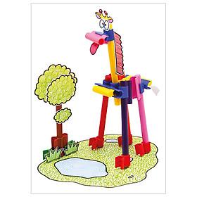 Lắp Ráp Mô Hình Khu Rừng-155085 Sáng Tạo Cùng Bút Connector Faber Castell