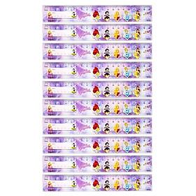 Thước thẳng 20cm Thiên Long Điểm 10 Disney Princess SR-029/PR