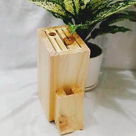 Ống dắt dao gỗ