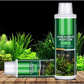 Bình xịt MOSS REMOVAL ALGAECIDE làm sạch rêu hại , diệt tảo nâu, tảo xanh xử lý làm đẹp bể thủy sinh, trong nước và giúp cây phát triển xanh đẹp và cá sống khỏe