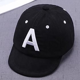 Mũ chữ dành cho bé trai bé gái mùa hè chữ A H G N mã D32