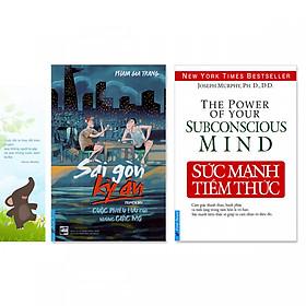 Combo 2 cuốn sách giúp người trẻ lập nghiệp:  Sức Mạnh Tiềm Thức, Sài Gòn Kỳ Án + Bookmark danh ngôn hình voi