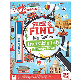 Inkredibles Seek And Find: Let's Explore Invisible Ink Activity Book