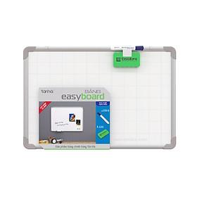 Bảng từ trắng treo tường Hàn Quốc Easyboard viết bút dạ - khung nhôm - kích thước 80x120cm