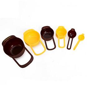 Hình đại diện sản phẩm Muỗng Đo Lường Nướng Learn Kitchen CHEFMADE WK9195 15ml Đến 250ml