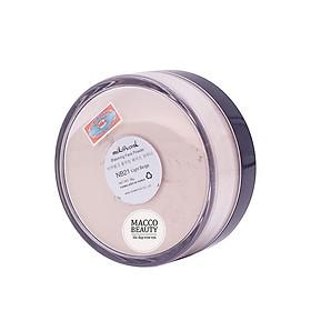 Phấn phủ bột kiềm dầu Mik@vonk Blooming Face Powder Hàn Quốc 30g NB01 # Natural Beige Pearl tặng kèm móc khoá-3