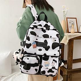Balo bò sữa thời trang đựng laptop ,cặp sách đi học